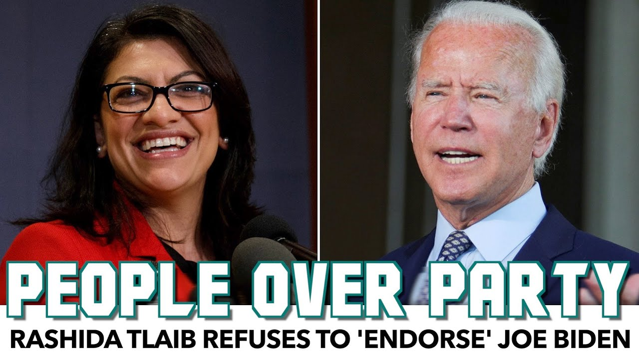 Rashida Tlaib Refuses To Endorse Joe Biden