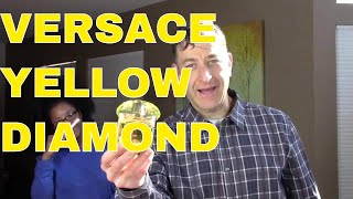 Versace Yellow Diamond Review and reactions from Girls Best Brands Perfume Ounanian