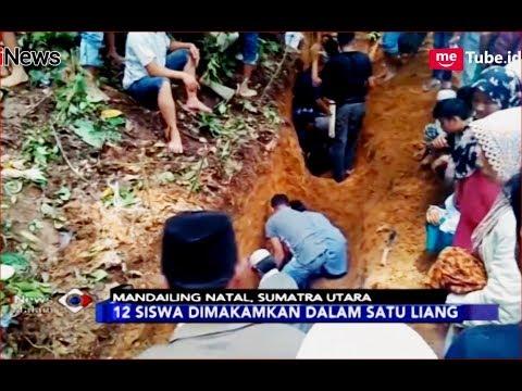 Jenazah 12 Siswa Korban Banjir Bandang di Mandailing Natal Dimakamkan Satu Liang - iNews Malam 14/10