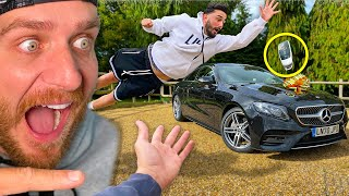 SURPRISING BEST FRIEND WITH DREAM CAR!! (Catch It You Keep It)