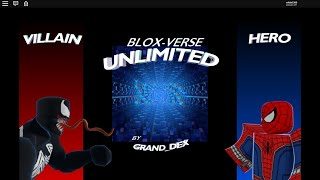 Roblox Blox Verse Unlimited: New update! Suits read desc