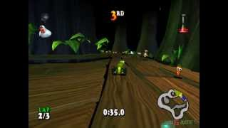 Muppet RaceMania - Gameplay PSX / PS1 / PS One / HD 720P (Epsxe)