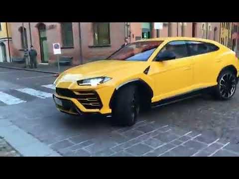 Lamborghini URUS EXHAUST SOUND 2018