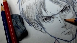 How To Draw Eren - from Attack on Titan
