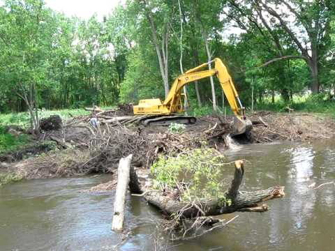 Clearing The Iroquois River