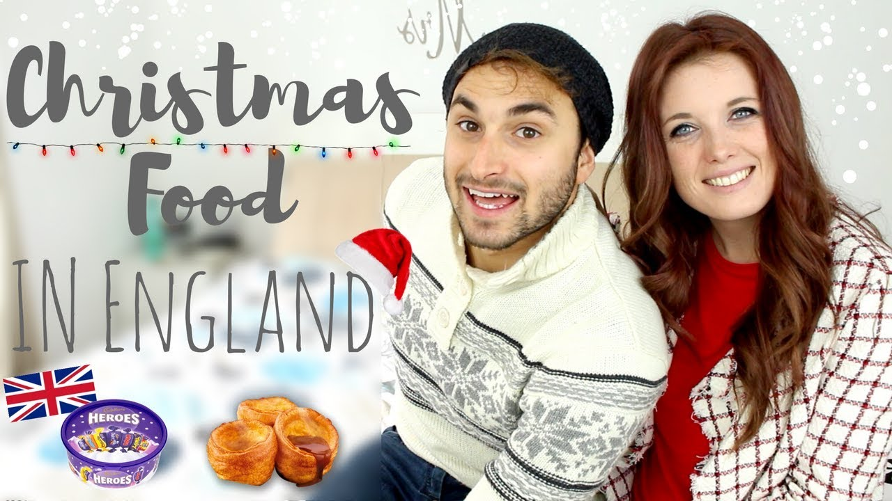 English Christmas food || Vlogmas Day 4