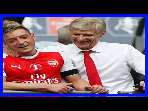 Breaking News   Arsene wenger: 'it's difficult to believe' mesut ozil talked of arsenal exit
