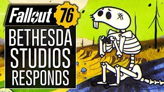 "Bethesda Studios ""A Note to Our Fans"" About FALLOUT 76..."