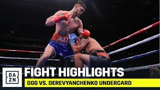 UNDERCARD HIGHLIGHTS | GGG vs. Derevyanchenko