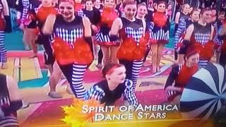 Spirit Of America Dance Stars & Build A Bear Float Macy's Thanksgiving Day Parade 2017