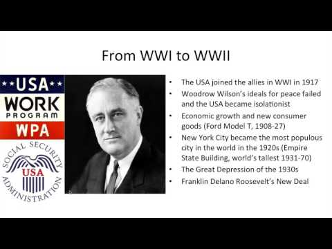 American History - 2/2 - Later American History