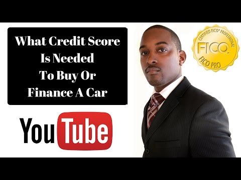 What Credit Score Is Needed To Buy/Finance A Car - GoSimplyPro Credit Consultation