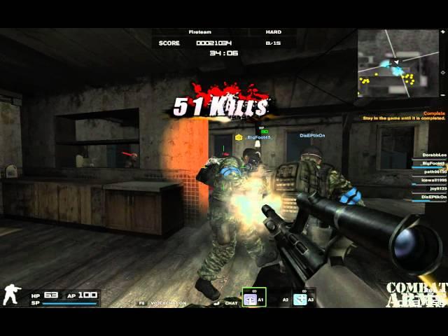 combat arms fireteam infected
