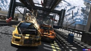 "Flatout Ultimate Carnage on SAPPHIRE HD 3850 AGP |  "" City Central 1 """