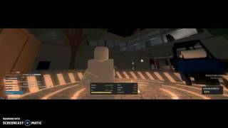 Playing with rude hackers on ROBLOX