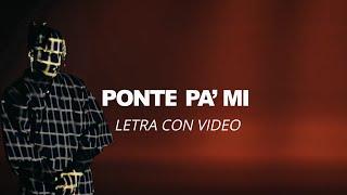Rauw Alejandro - Ponte pa' mi ft. Myke Towers x Sky Rompiendo (Video con Letra) Global music