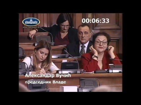 09.12.2015. - Živković u raspravi sa Vučićem o predlogu budžeta za 2016. godinu