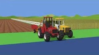 A Collection Of Cartoons About Tractors | Fairy Tales About Tractors - Children