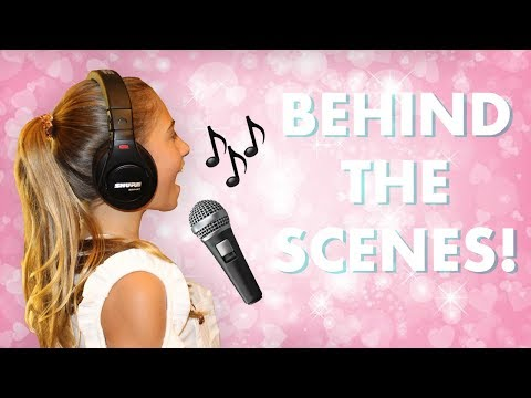 BTS - in the recording studio with me! | Rosie McClelland