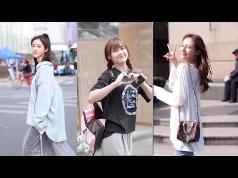 【 Tik Tok China 】 #2 Douyin Chinese Girls Fashion Style on The Street!