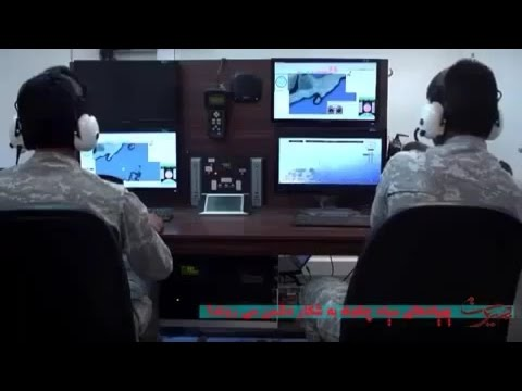 Iran Kavosh UAV, Mobile transport, Control post, Launching system پهپاد شناسايي كاوش ايران