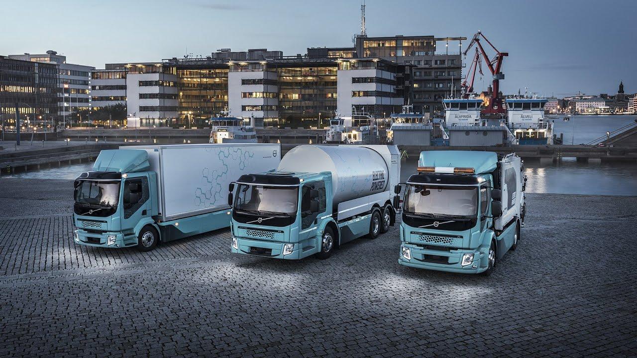 Våre første elektriske lastebiler i action!   Volvo Trucks Norge