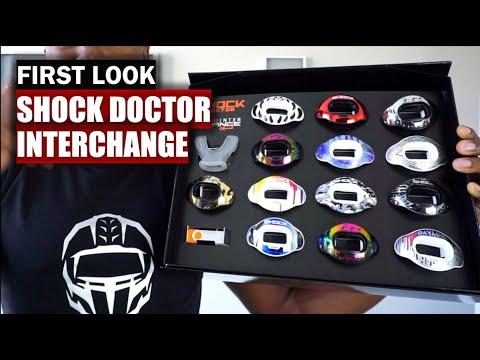 Shock Doctor Interchange Lip Guard: First Look [ 4K ]