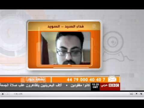 لقاء مع الناطق باسم الثورة السورية على الفيس بوك