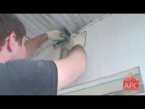 Обшивка балкона ПВХ панелями в Оренбурге