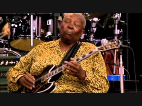 B B KING with THE ROBERT GRAY BAND with JIMMY VAUGHAN & HUBERT SUMLIN    ROCK ME BABY