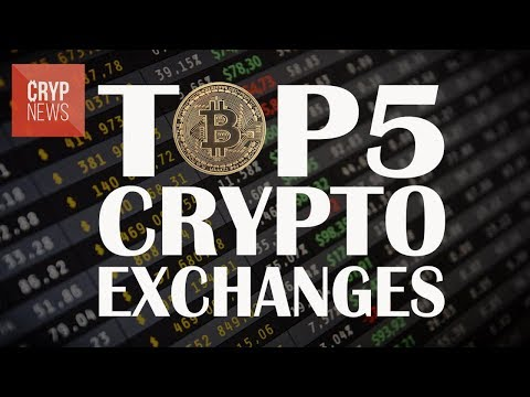 TOP 5 largest cryptocurrency exchanges