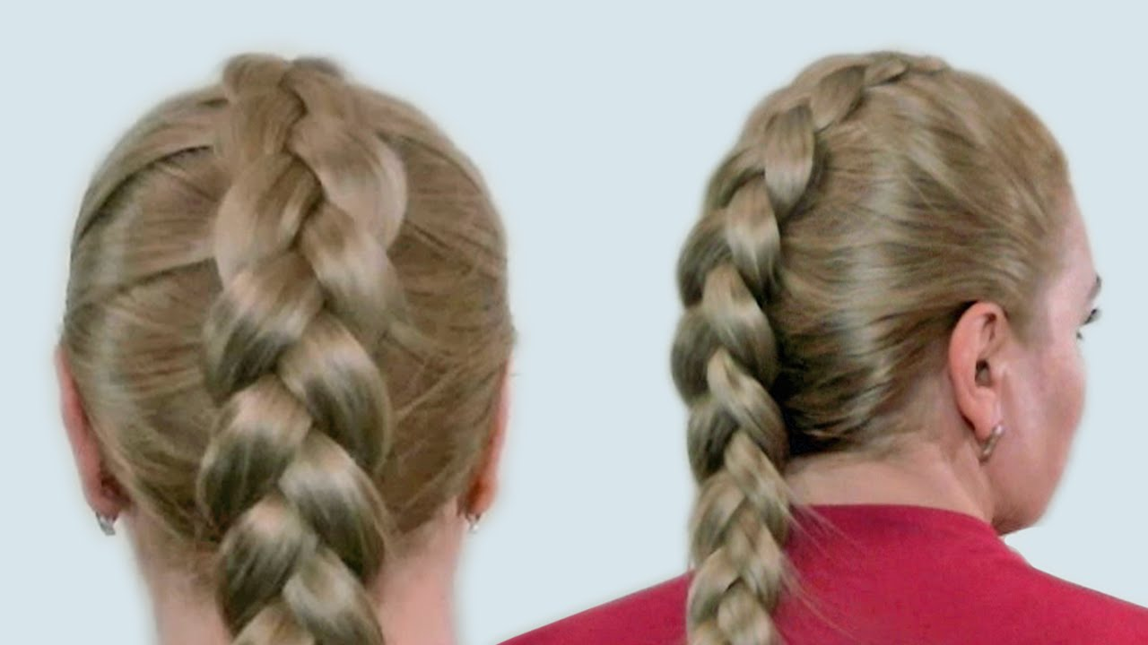 How to Sideswept Braided Bangs