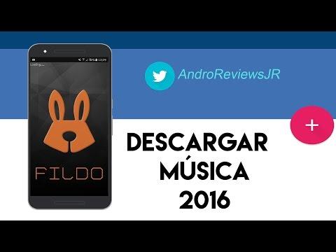 MEJOR APP PARA  DESCARGAR MÚSICA 2016 | FILDO