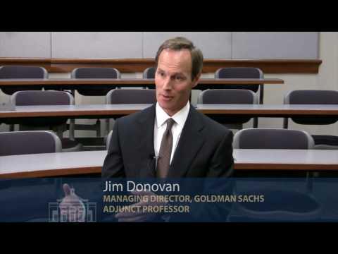 Jim Donovan Goldman Sachs UVA