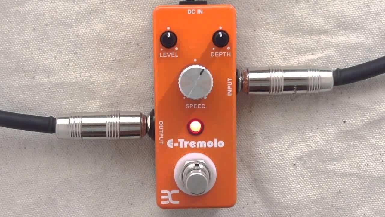 TC Electronic Shaker Mini Vibrato Effektpedal