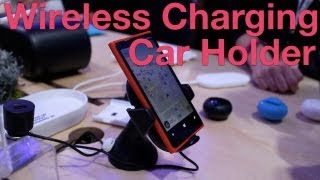 Nokia Wireless Charging Car Holder Hands-on
