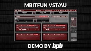 MBitFun VST Plugin DEMO (Free Bitcrusher)