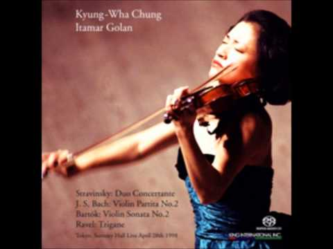 Kyung wha chung plays stravinsky duo conertante dithyrambe (live in suntory hall)