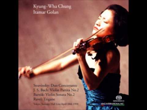 Kyung wha chung plays stravinsky duo conertante dithyrambe (live in suntory hall)