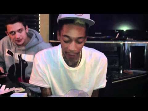 WIZ KHALIFA , BERNER AND THE TAYLOR GANG BEHIND THE SCENES FROM THE
