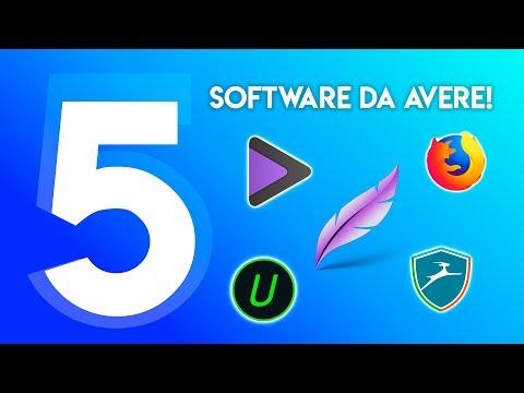 5 SOFTWARE DA AVERE SUL PROPRIO PC!