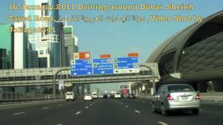 Driving Around Dubai 16JAN,2011- A - دبي الامارات العربية المتحدة