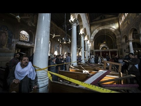 Egypt: Deadly blast hits Coptic cathedral in Cairo