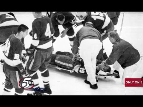 Bill Masterton Vintage North Stars Film Discovery 50th Anniversary in Final game