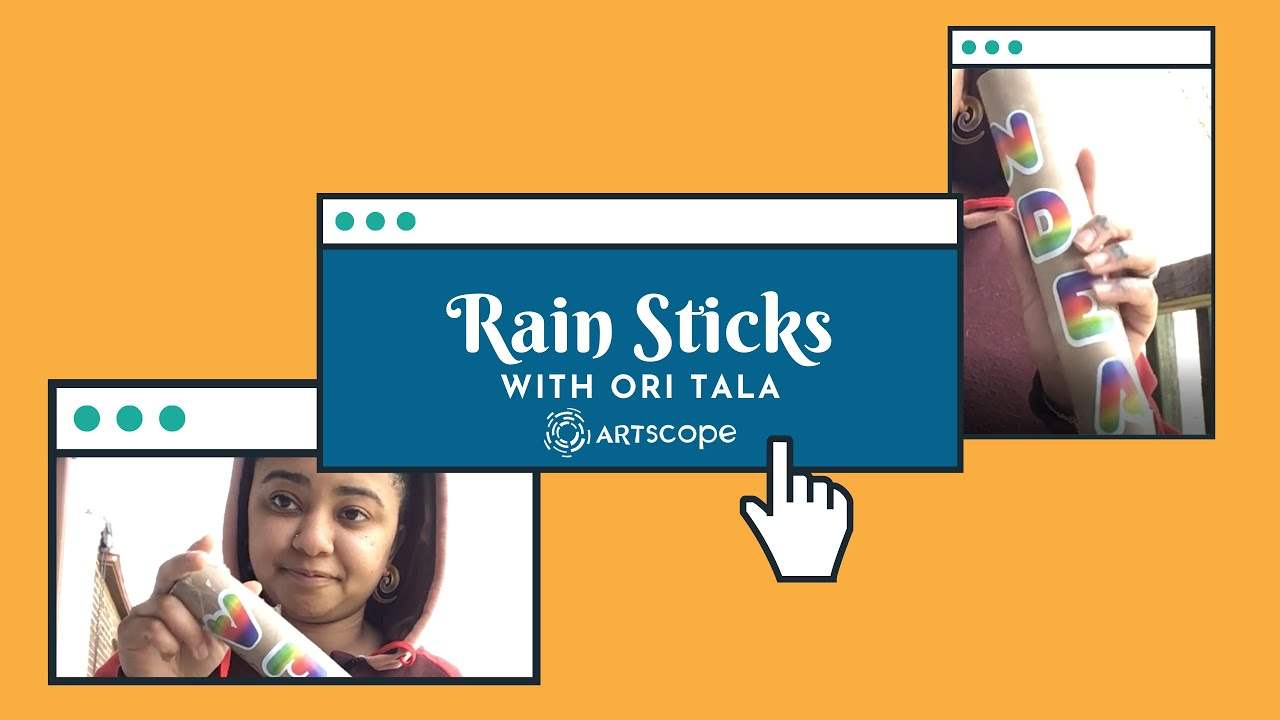 Rain Sticks with Ori Tala