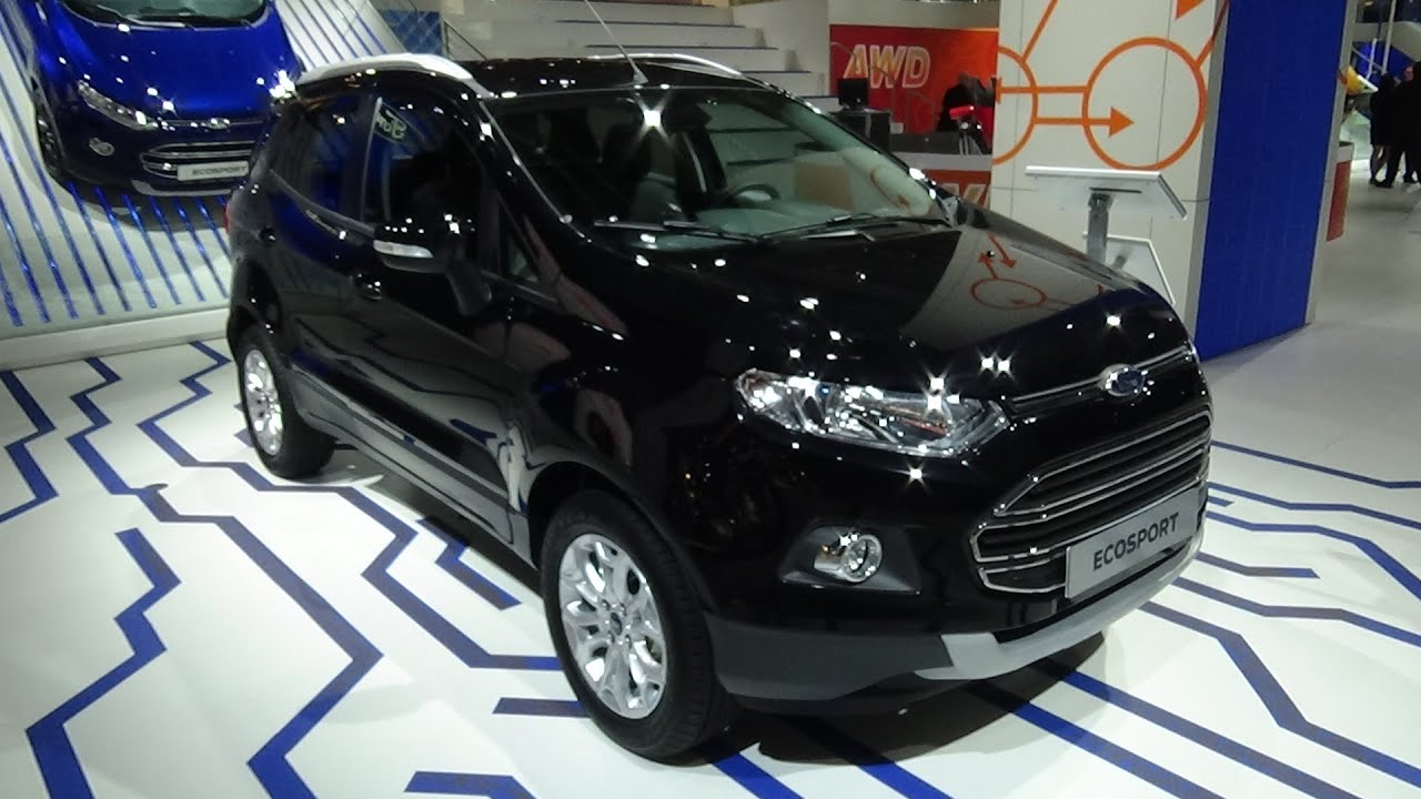 2016 - ford ecosport - exterior and interior