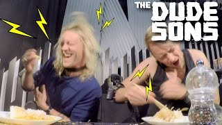 Electric Shock Collar Eating CHALLENGE!! - The Dudesons