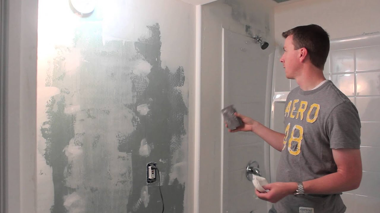 Drywall Taping And Mudding : How to mud and tape drywall part of hd mudding