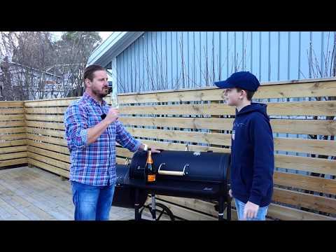 Gillis nya grill, Landman Tennessee 300 Barbecue Smoker  Del1