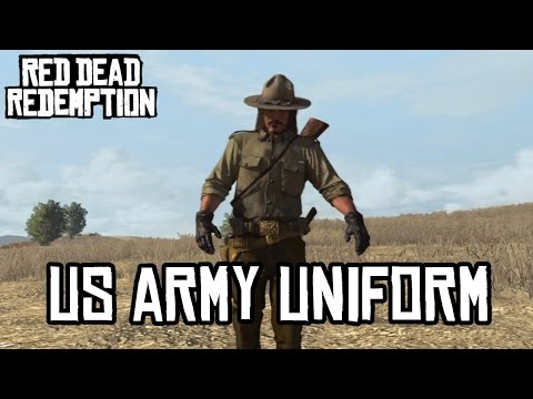 US Army Uniform - Red Dead Redemption (HD)